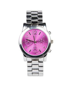 I love the coloured dial on this Boyfriend Watch from Woolworths.