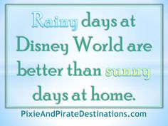 .... Rainy days at #Disney World....