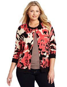 Jones New York Women`s Plus-Size Cardigan $84.00