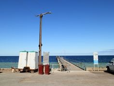 The Limestone Landslide Legacy: Temporary Toilets at Wool Bay, South #Australia