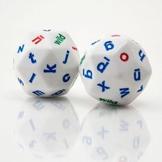 Alphabet dice - useful for all sorts of school activities.