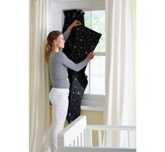 The Gro Company Gro-Anywhere Blind - Stars and Moon