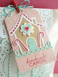 Gingerbread Lane Stamp Set ~ tags, cards