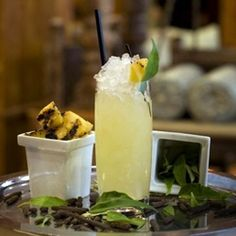 Food Republic shares Junoon's Tandoori Tequila Cocktail, with grilled pineapple and curry leaves