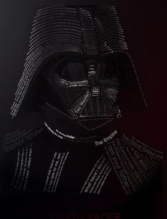 Vader typography