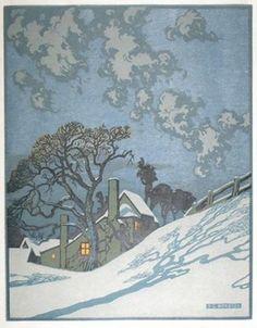 Sylvan G Boxsius (British, 1878 - 1941) Winter, 1910 or 1920