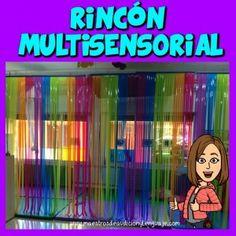 rinconmultisensorial_Eugenia Romero 2 Reggio Emilia, Teaching Time, Baby Steps, Sensory Play, Preschool Crafts, Montessori, Party Time, Weaving, Rainbow