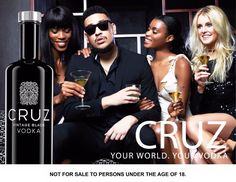 AKA Launches Signature Cruz Vodka South African Hip Hop, Hip Hop Artists, Vintage Black, Vodka, Product Launch, Movie Posters, Film Poster, Billboard, Film Posters