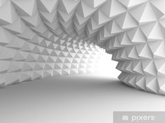 Abstract Architecture Tunnel # 89942519 # - Wall - Wall Wall - Wall tunnels and corridors 3d Wallpaper Mural, Wallpaper Roll, Peel And Stick Wallpaper, 3d Wall Murals, Lights Background, Textured Background, 3d Wall Panels, Interior Walls, Ceiling Design