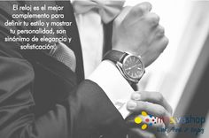 Úsalo de acuerdo a la ocasión, son un accesorio que complementa y combina con cualquier atuendo. #Fashion #Men #MensFashion #MensWatch #MensAccessories #FashionMen #ClassyMen #Watch #Watches