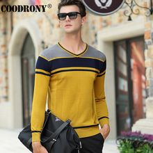 2016 New Autumn Winter Fashion Striped V-Neck Pullover Men Brand Clothing Cashmere Sweater Men Christmas Wool Sweaters OEM 66178(China (Mainland))