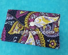 (10) Name: 'Embroidery : In the hoop Wallet embroidery file