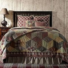 Timeless and Warm Jackson Queen Quilt by VHC Brands