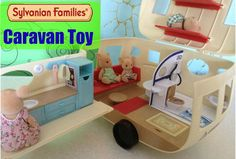 Sylvanian Family Caravan Toy is a great toy for girls aged 3 to 12. . It is like a real caravan. It comes with over 35 pieces. Check it out