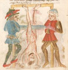 Weltchronik. Sibyllenweissagung. Antichrist  BSB Cgm 426, Bayern,  3. Viertel 15. Jh  Folio 142