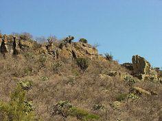Guila Naquitz Cave.  In der Nähe von Yagul Ruinen.  Oaxaca, Mexiko.  Reise-und Tour Bilder, Fotos, Informationen, Bilder und Bewertungen.
