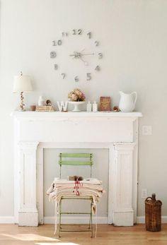 DIY Faux Fireplaces - Paperblog