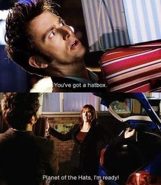I adore Donna Noble :) . <---- If we were companions, we would totally be prepared like Donna. Donna Noble, 10th Doctor, Bbc Doctor Who, Space Man, Don't Blink, Torchwood, My Escape, Partners In Crime, David Tennant