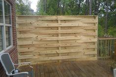 Wood Fence Styles Ideas [Best of Wood Fence Designs] Backyard Pergola, Pergola Kits, Patio Fence, Pallet Fence, Privacy Fences, Wood Fences, Fencing, Fence Gates, Wood Fence Design