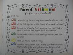 Parent Conference Gift Idea