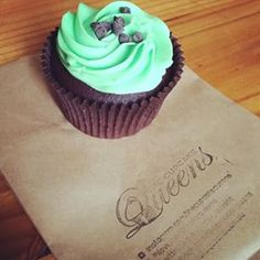 Thanks for popping in @britneestiveymusic - who's coming in today for some Saturday mint cupcake'y goodness? #thecupcakequeens #TCQmoment #instore #online
