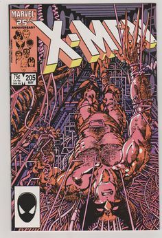 Uncanny X-Men VOL 1 205 Comic Book.  NM.  May by RubbersuitStudios #xmen #comicbooks #wolverine