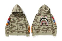 41fdf80d BAPE Unleashes Its Original Tiger Camouflage Pattern in Latest Collection