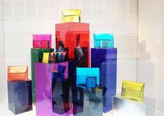 """BURBERRY, """"Perspex in Blocks"""", pinned by Ton van der Veer"""