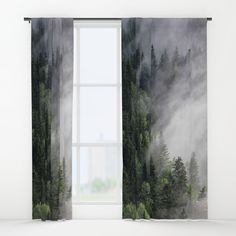 Buy Immersion Window Curtains by staywild. Worldwide shipping available at Society6.com. Just one of millions of high quality products available.
