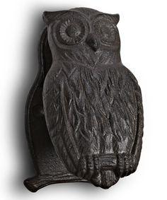 Love this Dark Brown Owl Knocker on #zulily! #zulilyfinds
