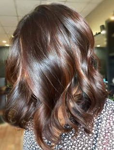 Top 30 Chocolate Brown Hair Color Ideas & Styles For 2019 Warm Espresso. Hair that glossy should be illegal! Brown Hair Cuts, Brown Hair Shades, Brown Ombre Hair, Hair Color Shades, Brown Hair Balayage, Brown Blonde Hair, Brown Hair With Highlights, Light Brown Hair, Brown Hair Colors