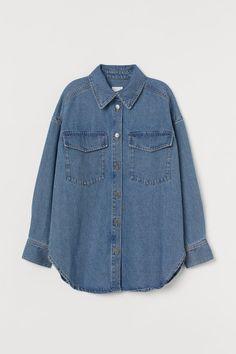 Veste-chemise en denim - Bleu denim - FEMME | H&M CA