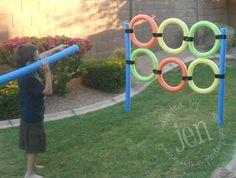Fun outdoor game