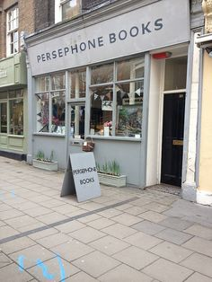 Check out the charming Persephone Books bookstore, which doubles as a small press re-printing mid-century books by women.