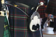 The men in Highland dress put on their masculinity with their sporran, and dirk, and kilt pin, and Balmoral bonnet. Remnants of their probable place in the outside world (tattoos, face hardware, or the ubiquitous ordinary look) are noticed but are of no importance. Men are transformed by Highland dress into something closer to what they were meant to be and this is boldly apparent and reassuring.  A man dresses in Highland gear in all seriousness. His dress matters to himself, his family…
