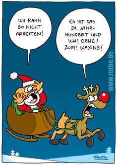 Lustige Weihnachten Ruthe.de
