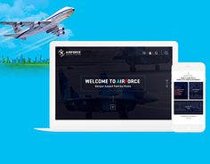 """Check out new work on my @Behance portfolio: """"Air Force Web Design Concept"""" http://be.net/gallery/45752973/Air-Force-Web-Design-Concept"""