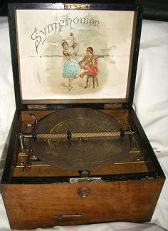 Vintage Antique Symphonion Music Box 468167 by tatsgrams on Etsy, $1200.00