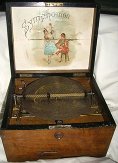 Vintage Antique Symphonion Music Box 468167 by tatsgrams on Etsy, $1200.00