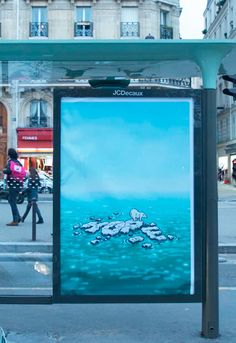 Artists Fill Paris With 600 Fake Ads To Protest Corporate Sponsorship Of Climate Conference Artist Hacks, Culture Jamming, Installation Street Art, Behind The Glass, Paris Climate, Political Art, Best Ads, Environmentalist, Street Art Graffiti