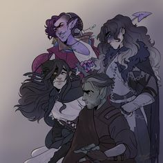 Mostly Void, Partly Stars 💙🌙💙 Critical Role Characters, Critical Role Fan Art, D D Characters, Fantasy Characters, Critical Role Campaign 2, Dnd Art, D&d Dungeons And Dragons, Character Design Inspiration, Cute Art