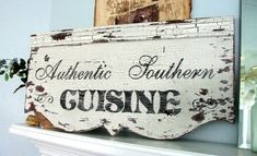 Southern Food Sign, #southern, #sign