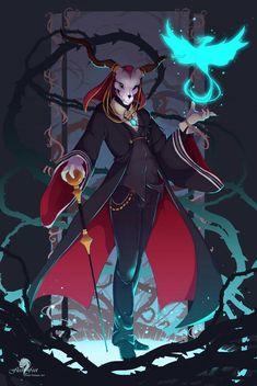 Dark Fantasy, Fantasy Art, Geeks, Elias Ainsworth, Chise Hatori, Manga Anime, Anime Art, Character Art, Character Design