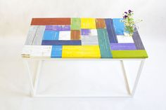 United Colors of Wood You Like - wooden coffee table