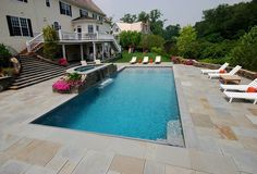 Swimming Pools Gallery | Intricate Stone Artistry | Pools Design CT & NY