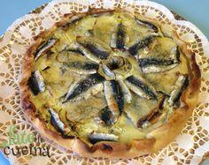 Torta Salata di Alici e Patate -