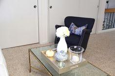 Blue and White Den Details   Redefining Domestics