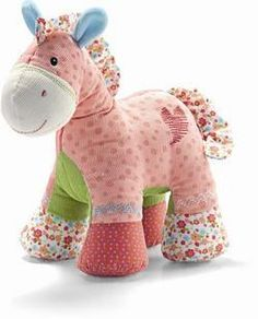 Free pattern! I MUST try this one!! It's so cute! You could put different sensory devices in each leg/hoof! Maybe crinkle material in its ears! :)  yep...need to try this one!!!