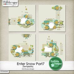 Enter Snow Part7 [Templates] By Eudora Designs