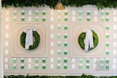 escort card display by @calderclark. Photo by Christian Oth.